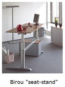 Birou seat-stand
