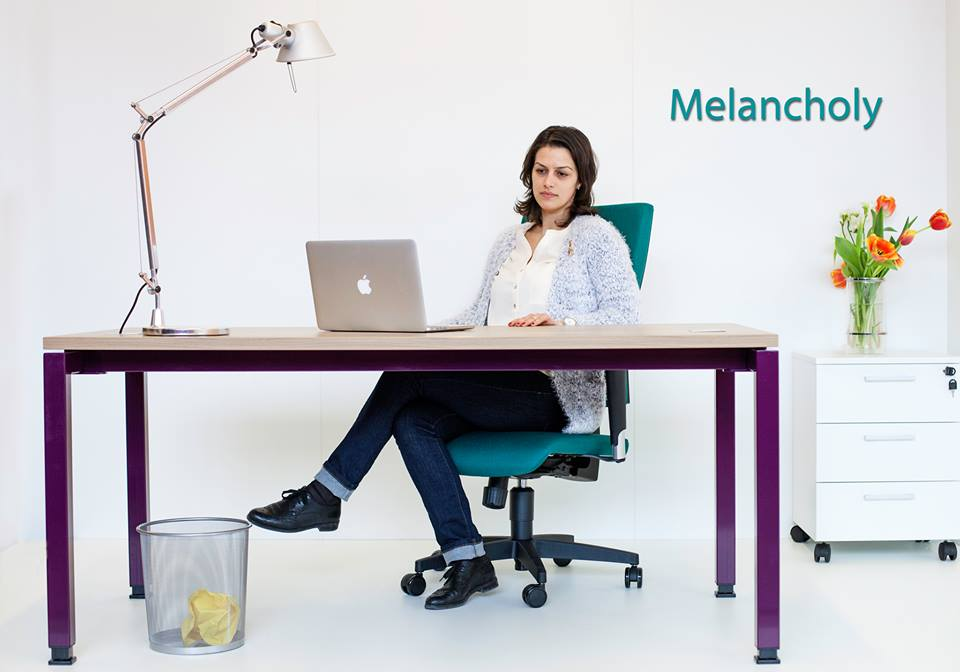 Mobilier birou Greenforest MOVI Melancholy