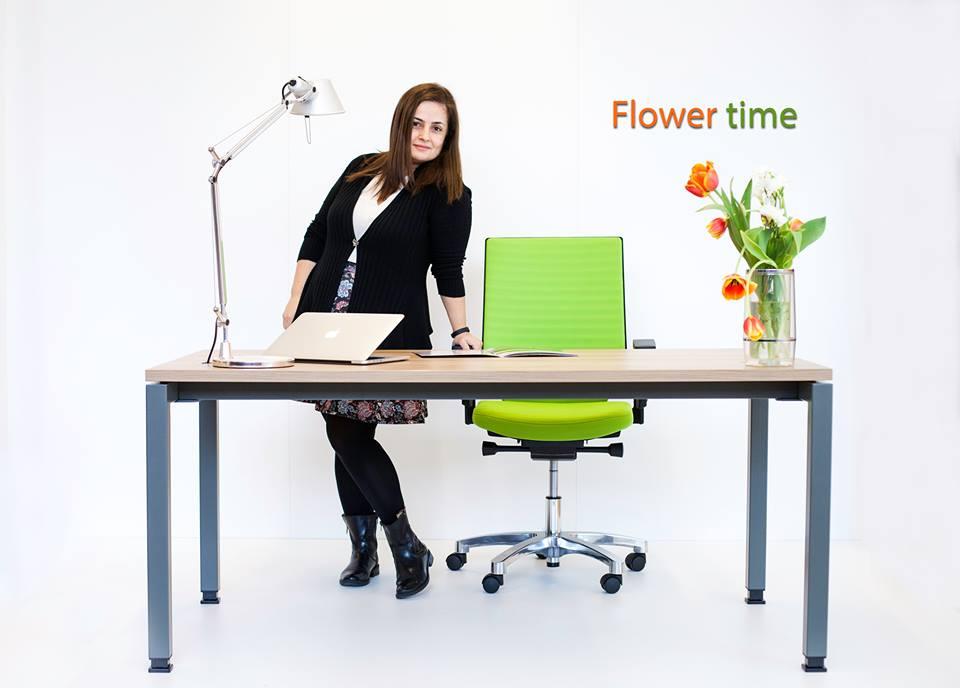 Mobilier birou Greenforest MOVI Flower time
