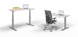 GreenForest - mobilier de birou Birou_SitStand_SES_KD140-300x143 Adjustable Operative Desks