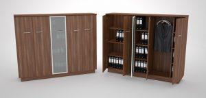 GreenForest - mobilier de birou elbi160_big-300x143 Bookcases
