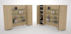GreenForest - mobilier de birou ibi240_big-300x143 Bookcases