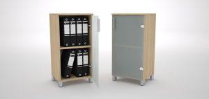 GreenForest - mobilier de birou ivs80_big-300x143 Dulapuri