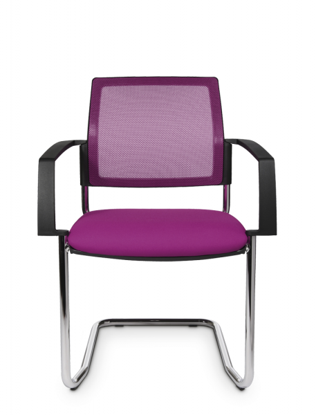 GreenForest - mobilier de birou BtoB-20-1-457x600 Scaune meeting cu cadru sanie