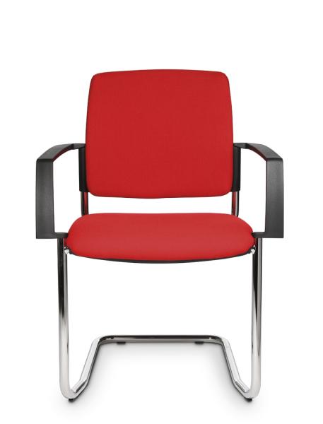 GreenForest - mobilier de birou BtoB-20-2-457x600 Scaune meeting cu cadru sanie