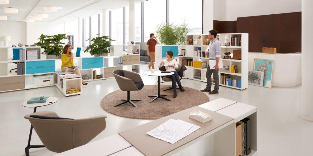 GreenForest - mobilier de birou Biblioteca-Sedus-1024x512-1024x512 GreenForest, de la producție și amenajări cu mobilier pentru birouri la furniture & fit out Evenimente Fără categorie
