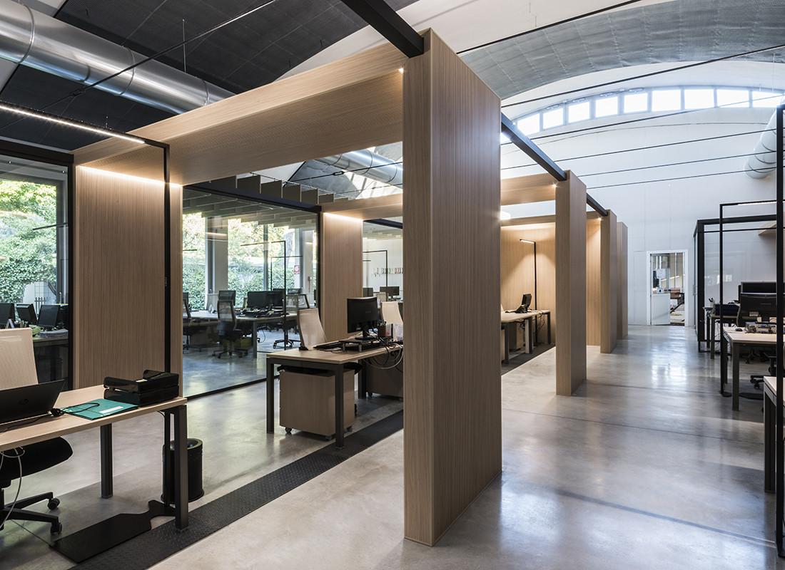 GreenForest - mobilier de birou MAGGIOLI-12 Projects